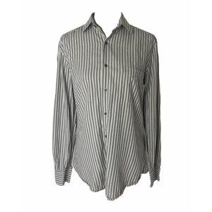 ~Womens medium (40) Lacoste grey edition button up